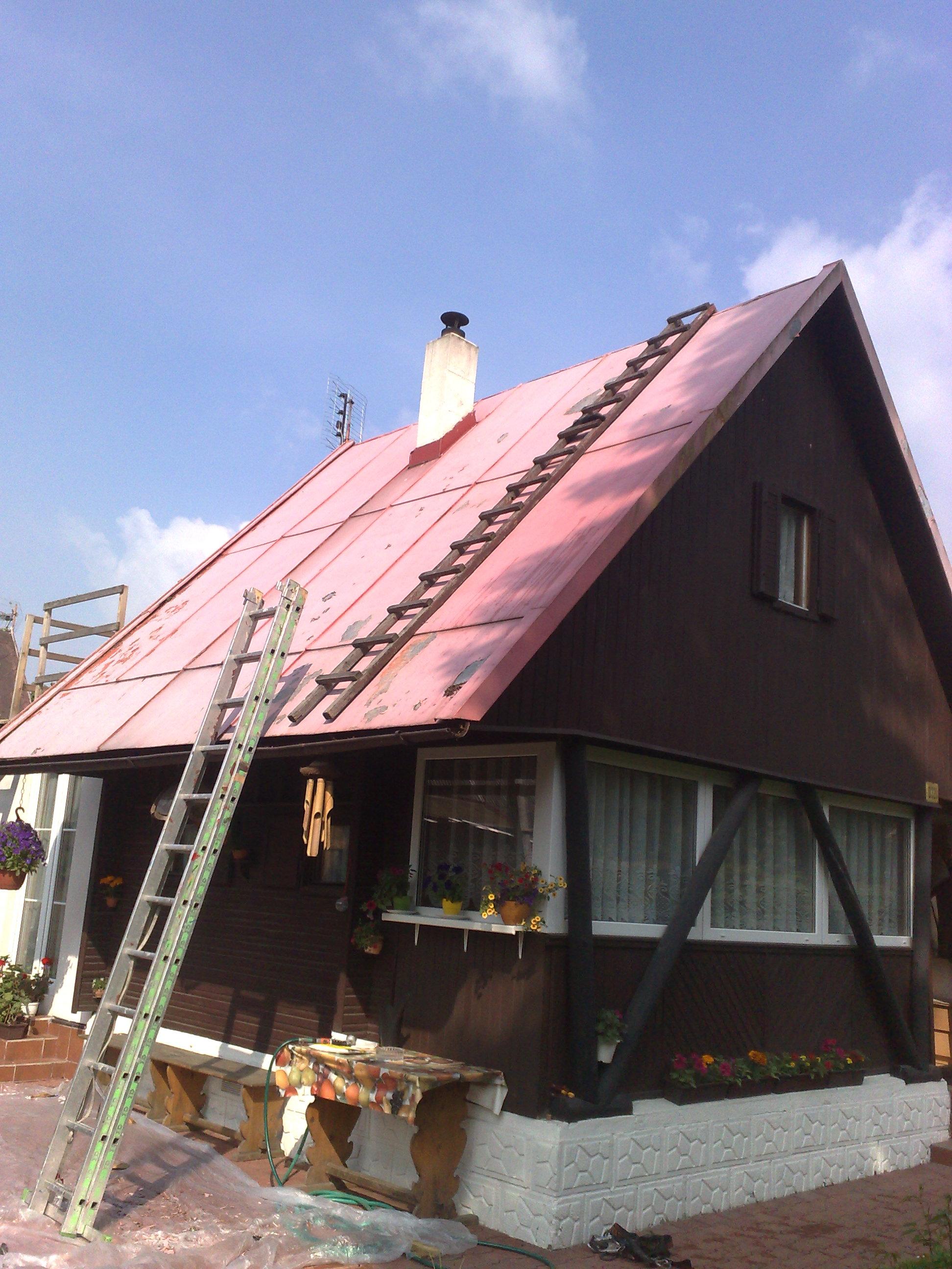 nátěr střechy chaty eternal mat akryl 1