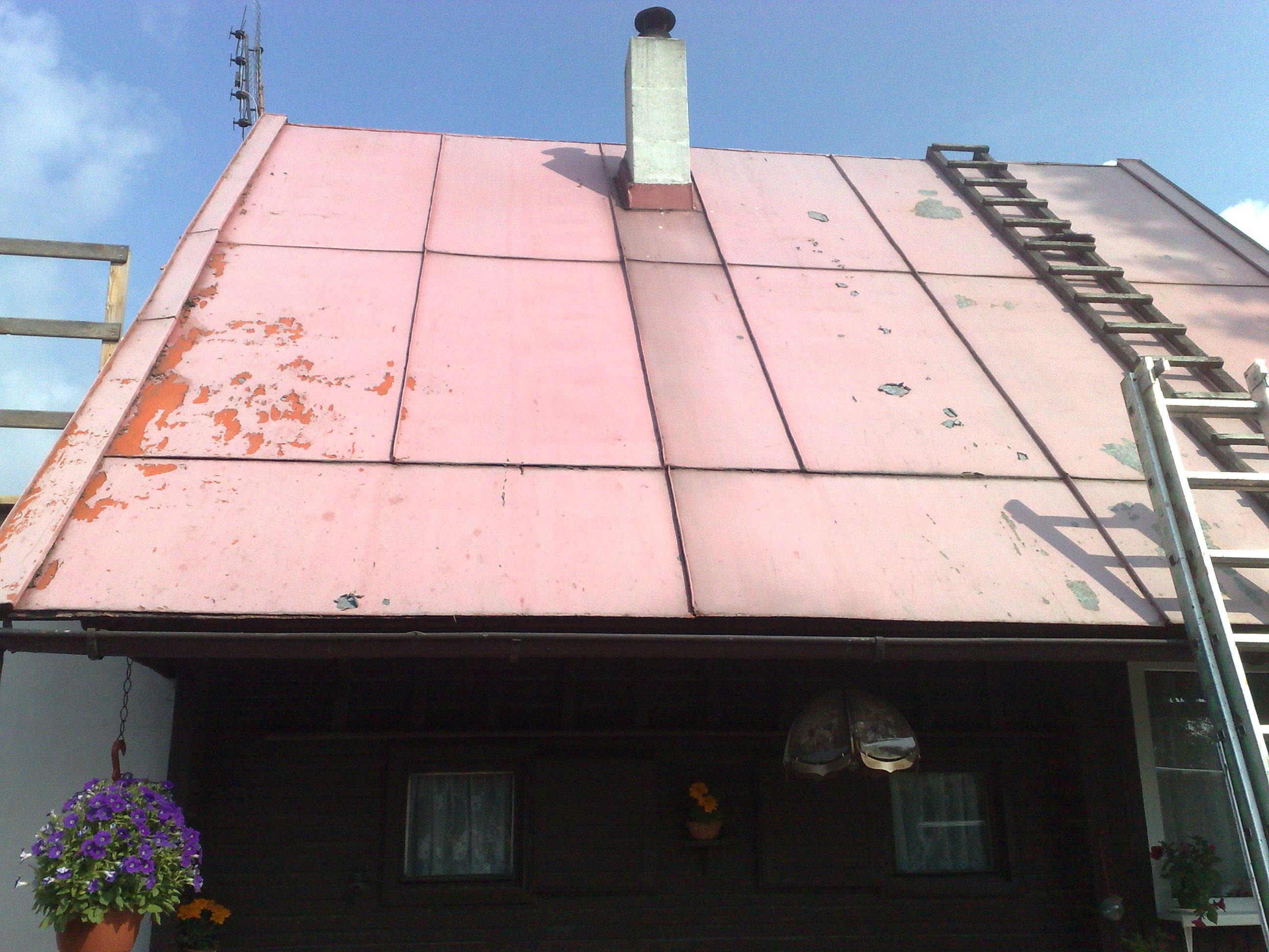 nátěr střechy chaty eternal mat akryl 2